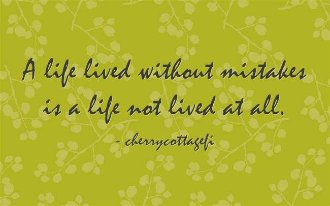 A Life Without Mistakes