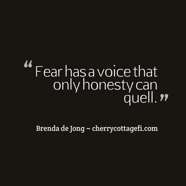 Fear has a voice...