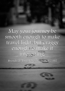 May your journey be...